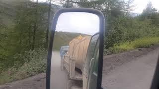Саха Якутия еду на Усть Неру перевал Альчан