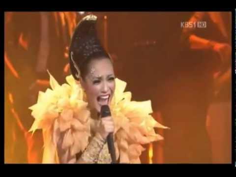 2012 ABU TV Song Festival - Maria Calista (Indonesia) - Karena Ku Sanggup (Agnes Monica)