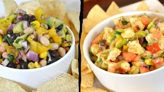 Shrimp Salsa Recipe Black and White Bean Salsa Recipe Cooking WIth Carolyn
