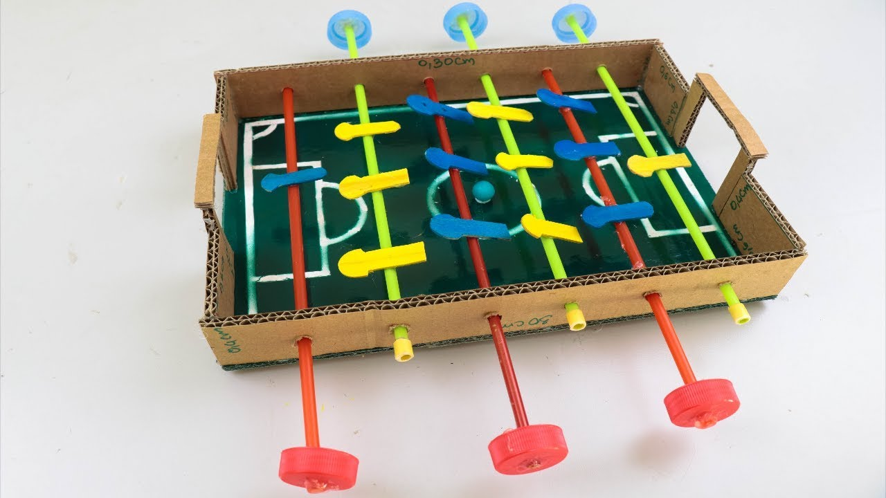 DIY How to Make a Mini Foosball
