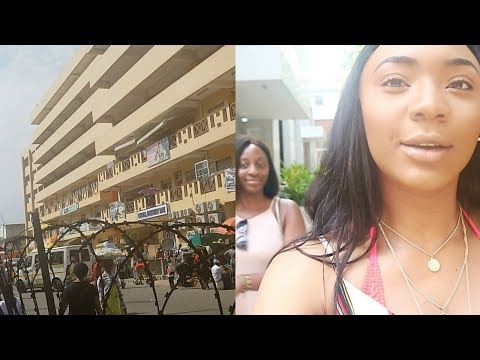 WE WENT TO MAKOLA MARKET | GHANA DAY 4 #GhVlog5