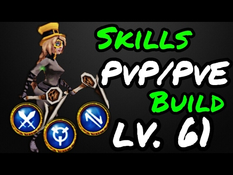 ARCANE LEGENDS - SKILLS PVP/PVE BUILD LV. 61