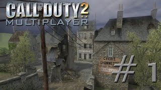 Call of Duty 2 Multiplayer Gameplay #1 | Carentan TDM | Deutsch | HD