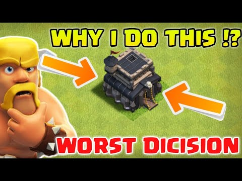 Why I Do This !? Townhall 9 Rushed ! Clash of Clans