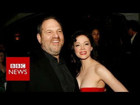 Rose McGowan accuses Harvey Weinstein of Rape  BBC
