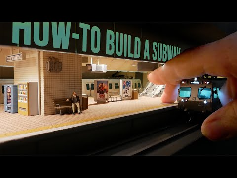 Ultra-Realistic Subway Diorama (That Works) – Realistic Scenery Vol.20