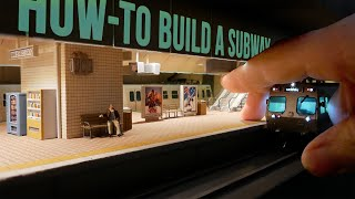 Ultra-Realistic Subway Diorama (That Works) - Realistic Scenery Vol.20
