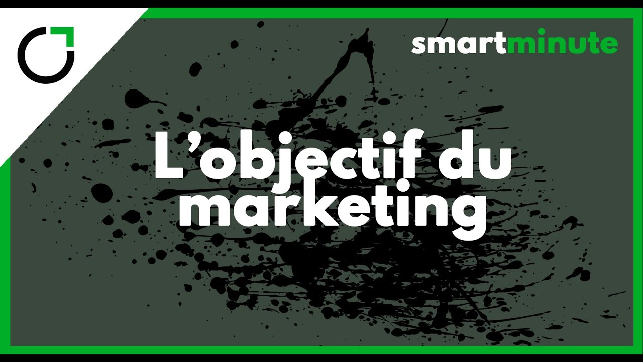 Le rôle du marketing ? Smartminute training