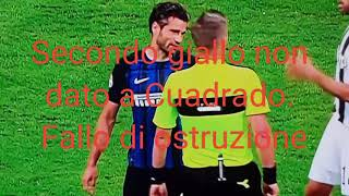Errori arbitrali Inter-Juventus 2-3