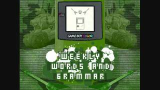 Weekly Words and Grammar  - Red Alert!