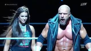 Triple H vs Seth Rollins WrestleMania 33 Full match