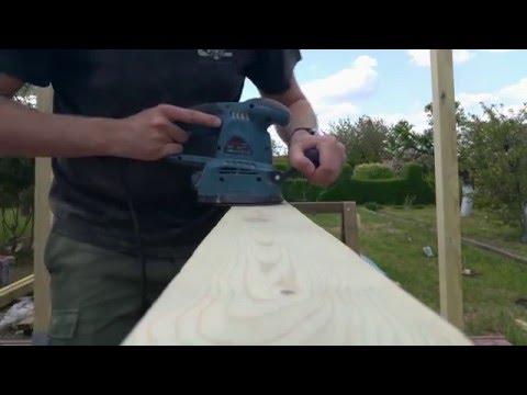 Jak szybko szlifować drewno DIY | How to fast grind the wood DIY