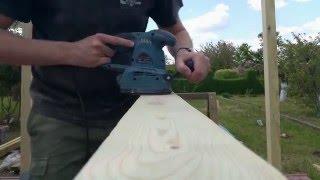 Jak szybko przeszlifować drewno DIY   How to fast grind the wood DIY