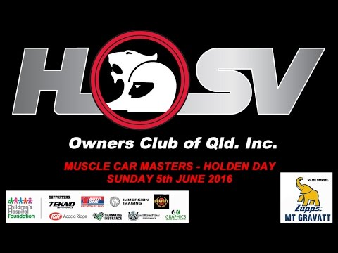 HSVOC - Muscle Car Masters Holden Day   2016