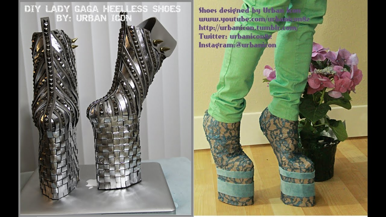 How To Make Lady Gaga Shoes