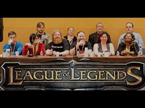 2014 league of legends voice actor panel part 1 youtube. Black Bedroom Furniture Sets. Home Design Ideas