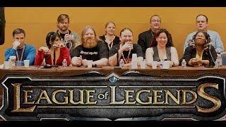 2014 League ofends Voice Actor Panel (Part 1)