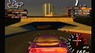 Ridge Racer V: RidgeCity93 VS SPIRIT (Bayside Line)