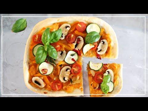 EASY VEGAN PIZZA RECIPE