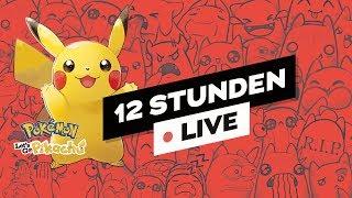 #12H STREAM 🔴 Pokémon Let's Go Pikachu & #MCLink
