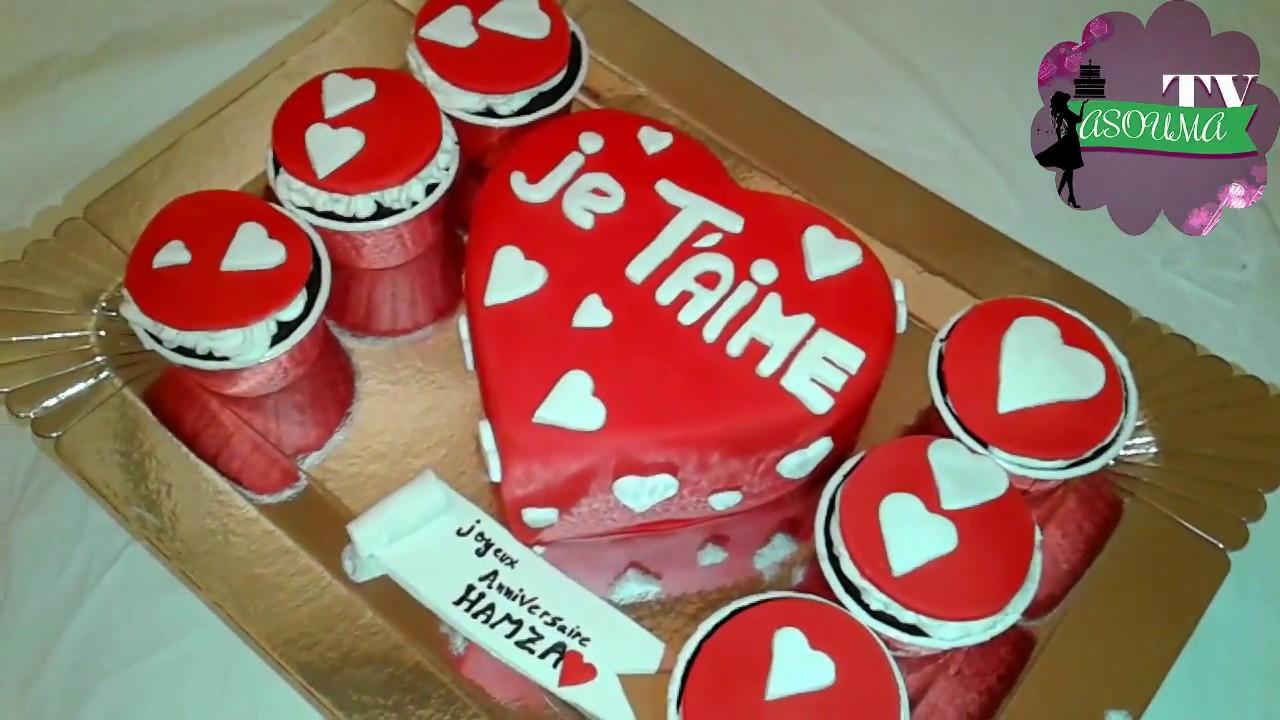 Amazing Cake Decorating Coeur Tutoriel #Cake Style طريقة ...