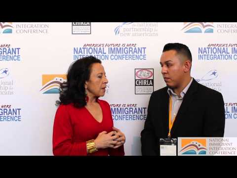 Maria Hinojosa, from NPR's Latino USA - Interview at NIIC 2014