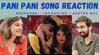 Badshah - Paani Paani Song Reaction   Jacqueline Fernandez   Aastha Gill   4AM Reactions