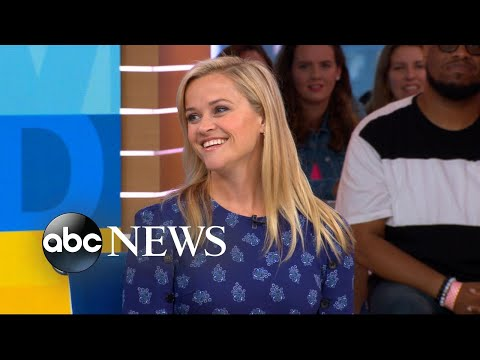 Reese Witherspoon 'trying to take the stigma off' ambition for women