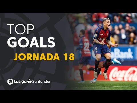 Todos Los Goles De La Jornada 18 De LaLiga Santander 2019/2020