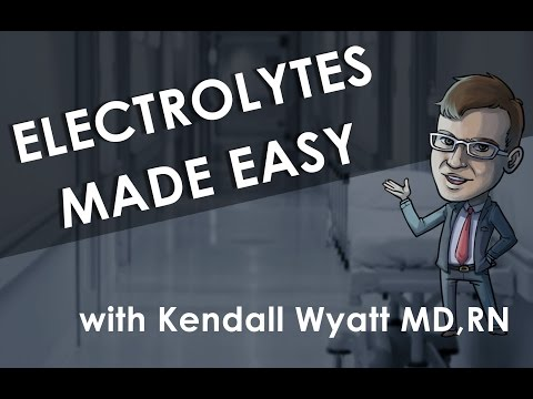 Electrolyte Imbalances And Lab Values Made Easy - With Kendall Wyatt MD, RN