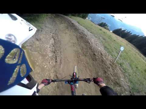 Morzine - Downhill MTB - Full run down 'Super Morzine'