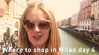 Shopping in Milan 2017 - vintage shopping Navigli