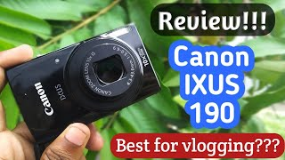 Canon Ixus 190 Point And Shoot Review Best Vlogging Camera Best Budget Camera For Beginners