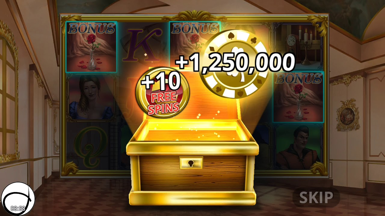 Belle and the Beast Slot Machine