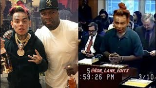 50cent Talk 6IX9INE Snitching & How He Avoid The Rico On Get The Strap...DA PRODUCT DVD