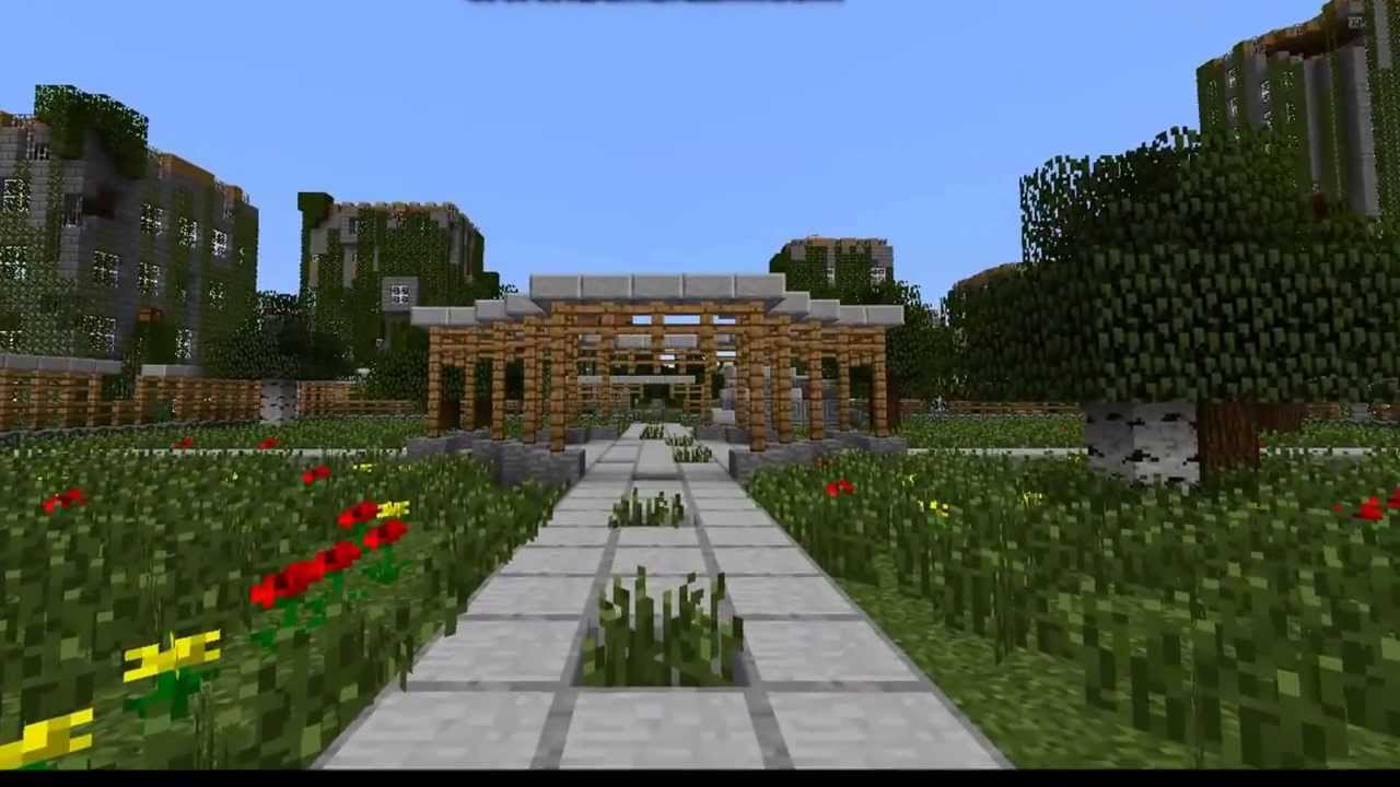 Minecraft Server) Abandon:Open World Zombie Survival/PVP - YouTube