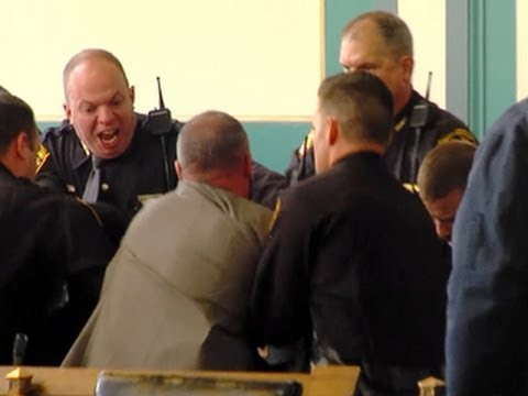 Fight breaks out in Ohio courtroom after murder sentencing