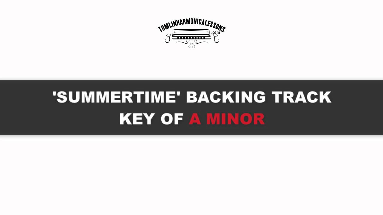 Summertime backing track free download