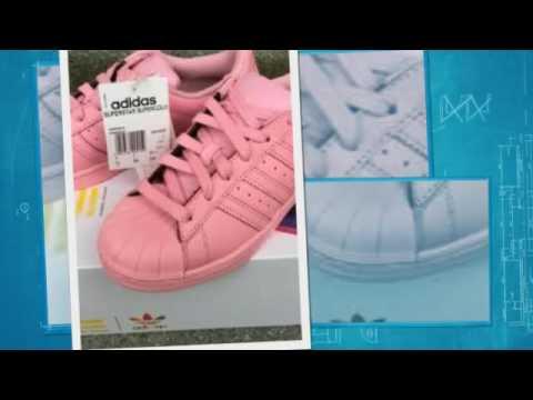 Adidas Superstar luz rosa YouTube