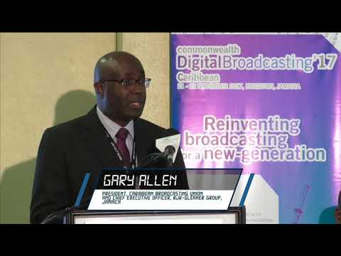 Mr. Gary Allen - DSO among Caribbean Broadcasting Union Members