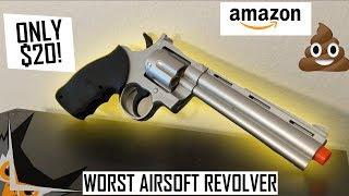 Worst $20 Airsoft Revolver | UKARMS G36B