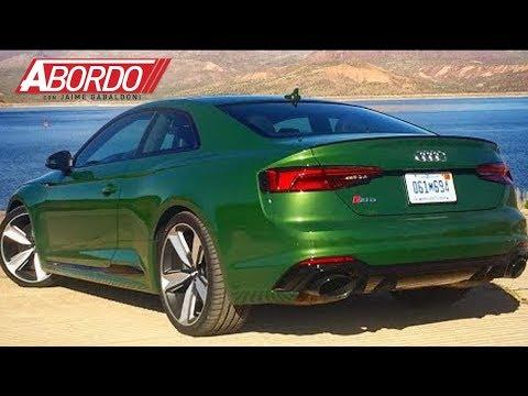 El Audi RS5 2018 lo último en remedios para el 'mid-life crisis' | A Bordo
