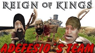 DIRECTO RAIDEO Y LLEGAMOS A SER LOS REYES DEL SERVER | REIGN OF KINGS | TheCorvusClan