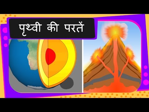 Science layers of earth with animation and volcano hindi youtube science layers of earth with animation and volcano hindi ccuart Images