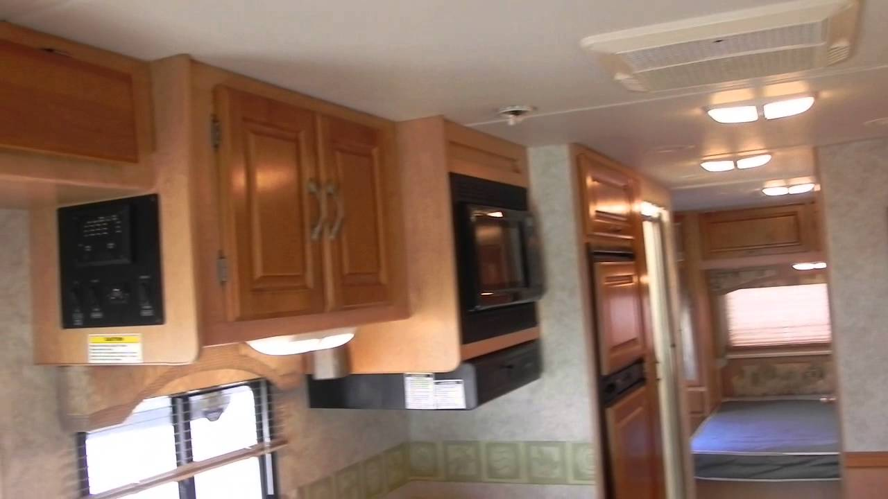 Ford Class C Rv >> 2005 Ford E-450 31ft Thor Chateau Coach Motorhome RV 1 Slideout 6.8L GAS - YouTube