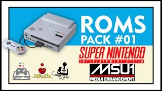 DOWNLOAD ROMS DE SNES MSU-1 - PACK #1