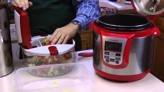 How to Make Homemade Beef Stew in a Pressure Cooker Using a Genius Food Chopper
