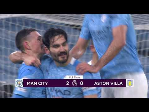 Manchester City Aston Villa Goals And Highlights