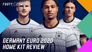GERMANY EURO 2020 ADIDAS HOME SHIRT KIT REVIEW