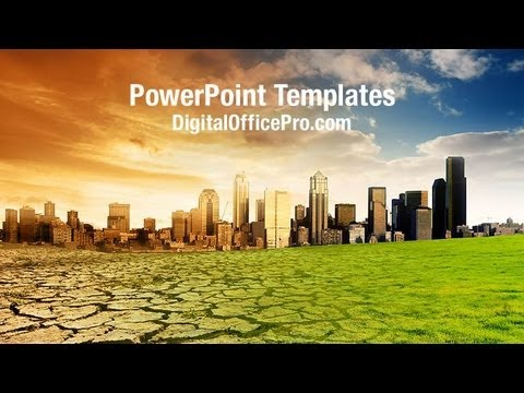 Global Warming Concept PowerPoint Template Backgrounds DigitalOfficePro 02790W YouTube